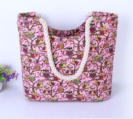 2124d04d2271 Пляжная сумка 456 Совы - Интернет-магазин - Полезные товары оптом