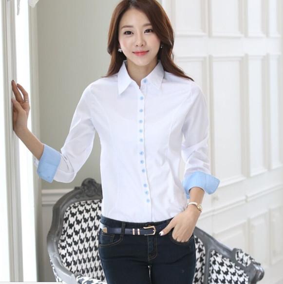 6dd61141fe2 Рубашка женская с длинным рукавом a22 - Интернет-магазин - Полезные ...