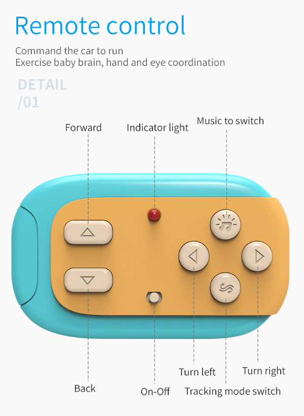 Умная машинка Smart Cute Tracker Rockwoo