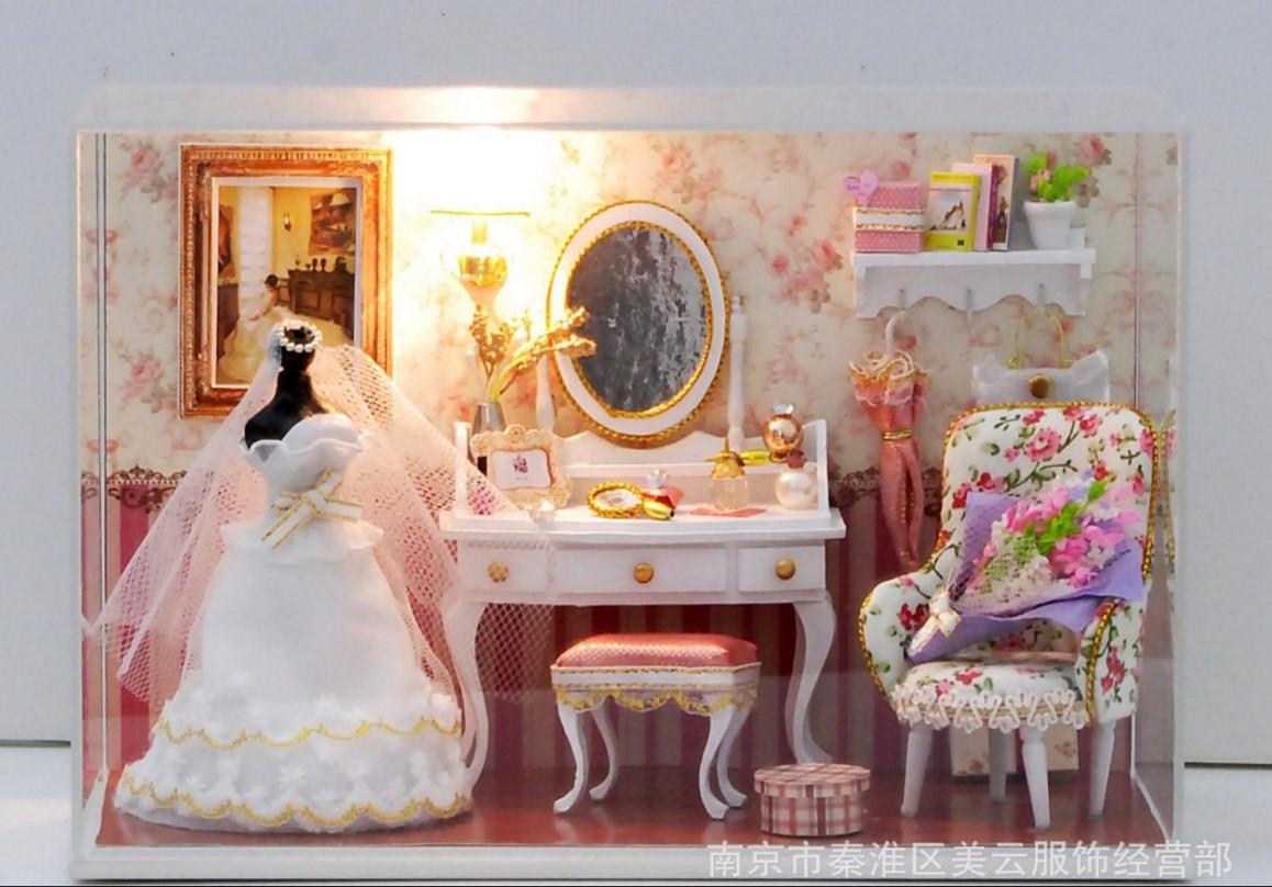 Как сделать туалетный столик своими руками для куклы